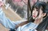 【蜗牛娱乐】动漫博主Moki户外写真 JK制服写真清纯唯美