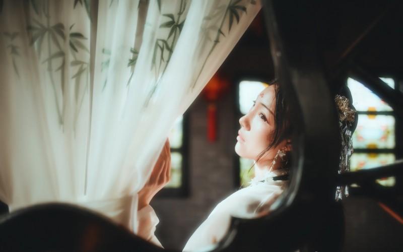 【蜗牛娱乐】清纯仙气古装美女高清桌面壁纸