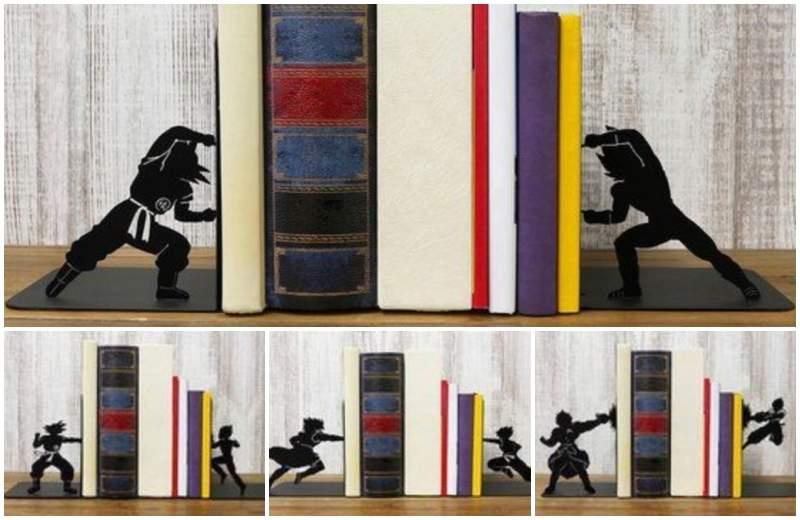 【蜗牛娱乐】《七龙珠超:布罗利》主题书架 剪影书架重现经典场景