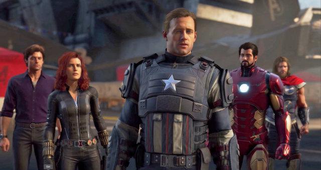 【蜗牛娱乐】电玩游戏《漫威复仇者连盟》预告 多人模式玩家角色不重复