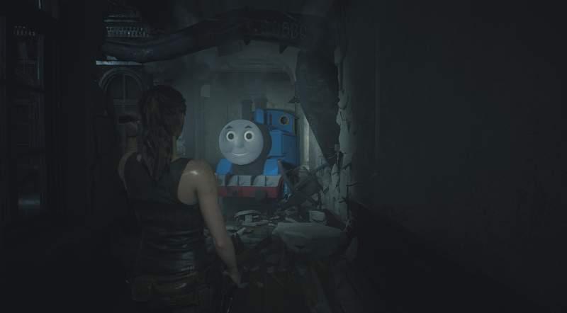 【蜗牛娱乐】《恶灵古堡2重制版》暴君遭玩家恶搞 阴森感令人恐怖
