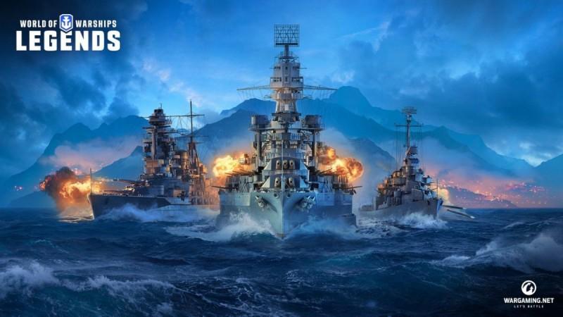 【蜗牛娱乐】日本PS4版《战舰世界》发售日公开!下载版将于4月16日推出