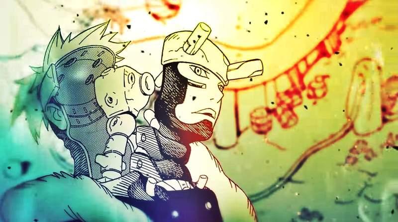 【蜗牛娱乐】岸本齐史新作《武士8号八丸传战》 大久保彰作画《サムライ8八丸伝》