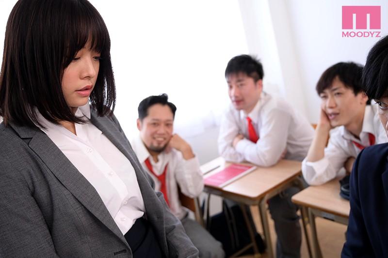 【蜗牛娱乐】八木奈奈MIDE-876 年轻女老师被班上男人欺负