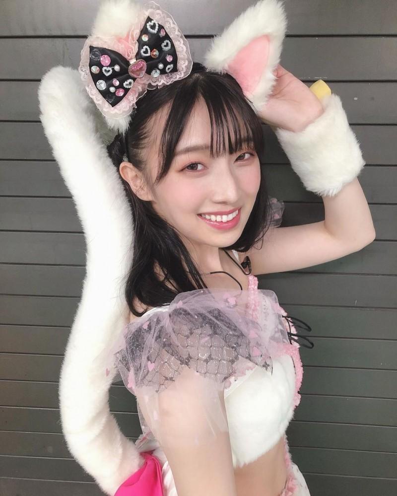 NMB48妹系偶像「安部若菜」邻家女孩气场初恋感十足软绵绵「呆萌小脸」让人好想捏
