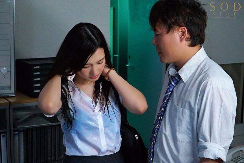 【蜗牛娱乐】古川いおり(古川伊织)作品 STARS-094 :暴雨夜与憧憬的女上司办公室湿身做爱!