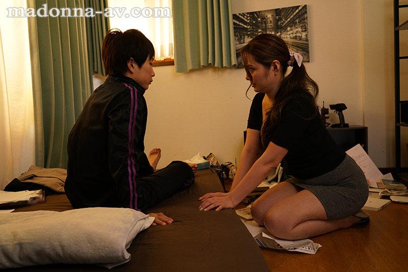 """【蜗牛娱乐】""""市川京子""""作品ROE-004 :单亲妈妈想再婚,亲生儿子翻脸乱伦!"""