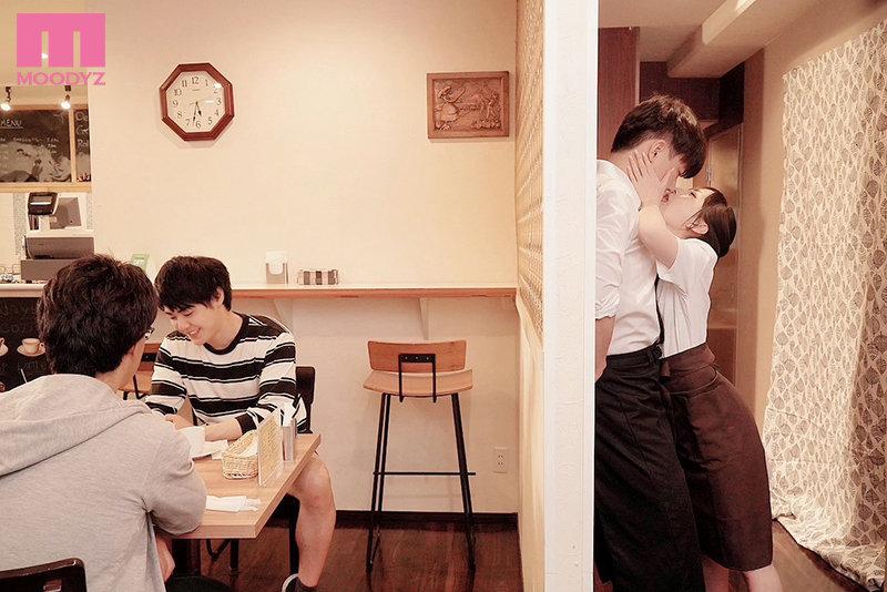 【蜗牛娱乐】七沢みあ(七泽米亚)mide-983:咖啡店痴女强迫帮小鲜肉店员玩弄口技